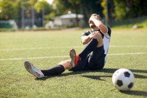Injury during sports event