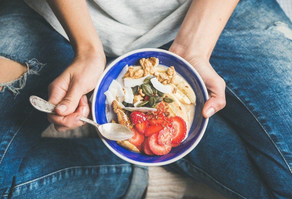 Organic Food in a bowl