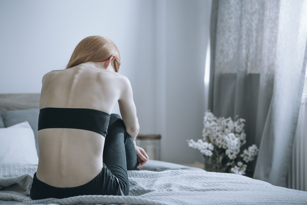 woman with bulimia